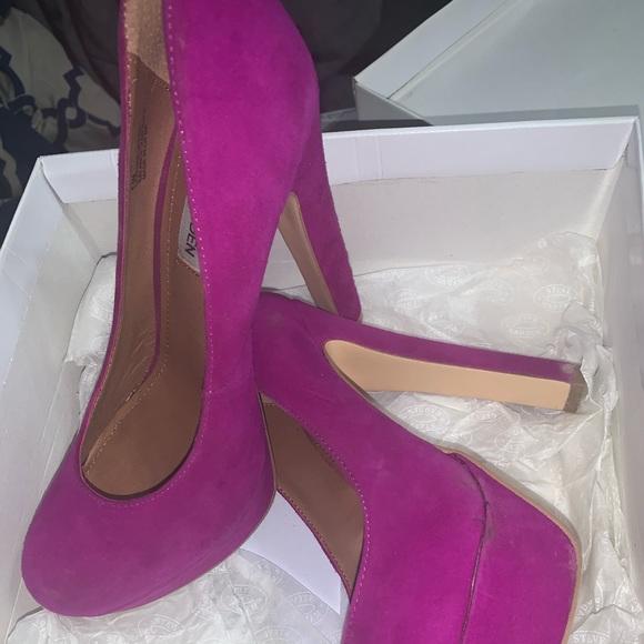 Madden Girl Hot Purple Heels